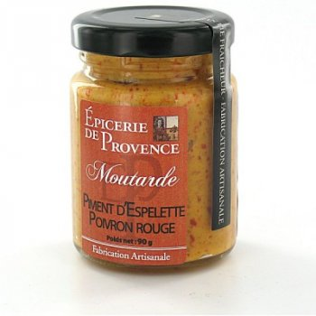 Moutarde, Piment d'espelette