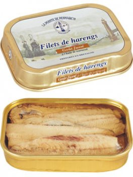 Filets de harengs, goût fumé
