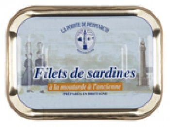 Filets de Sardines, à la moutarde
