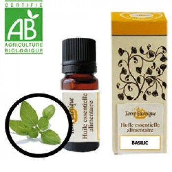 Huile essentielle alimentaire basilic for Vinaigre et huile essentielle