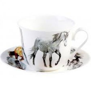 Porcelaine anglaise cheval